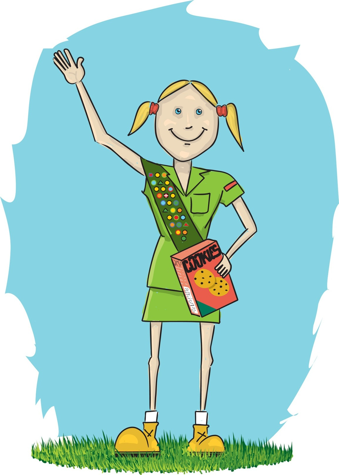 """What a few little girls selling cookies can teach us about """"selling"""" theenvironment."""
